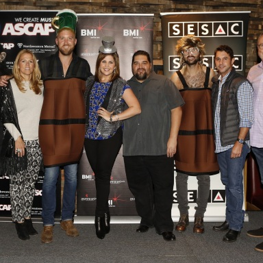 "LADY ANTEBELLUM CELEBRATES NO. ONE HIT ""BARTENDER""  IN NASHVILLE"
