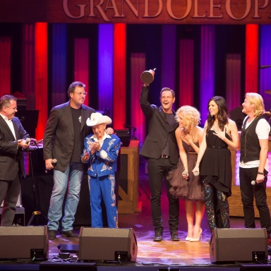 LITTLE BIG TOWN INDUCTED AS NEWEST MEMBER  OF THE GRAND OLE OPRY