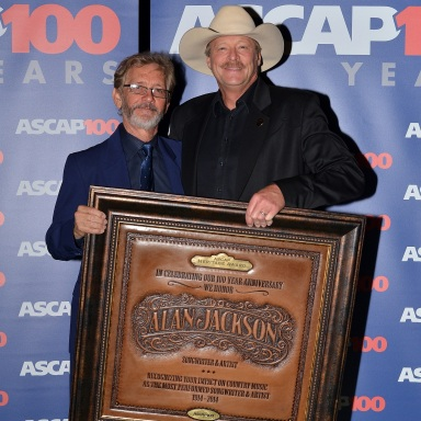 Alan Jackson Receives ASCAP Heritage Award at 52nd Annual ASCAP Country Music Awards
