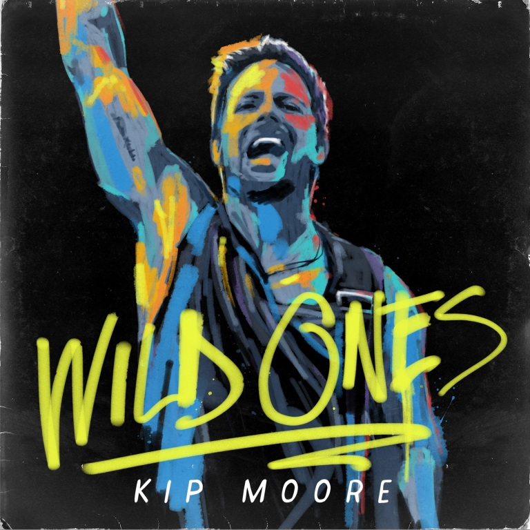 "Kip Moore Releases New Album ""Wild Ones"""