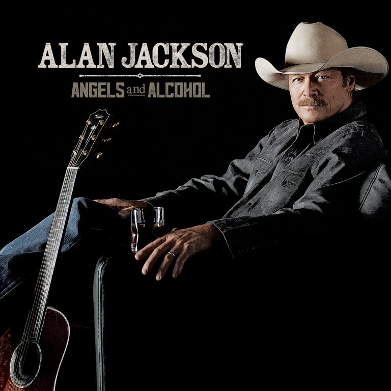 "ALAN JACKSON LAUNCHES ""ANGELS AND ALCOHOL"" WITH MAJOR MEDIA BLITZ"