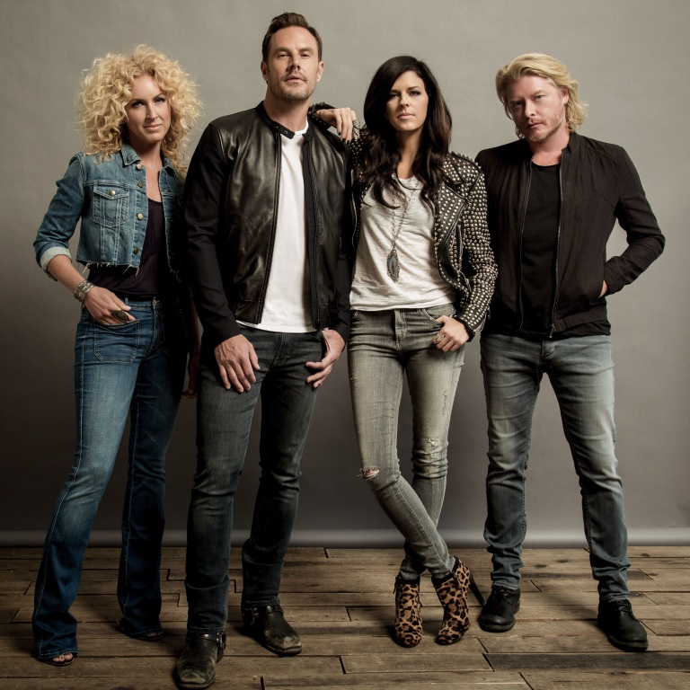 "LITTLE BIG TOWN MAKES BILLBOARD HISTORY WITH LATEST SINGLE ""GIRL CRUSH"""