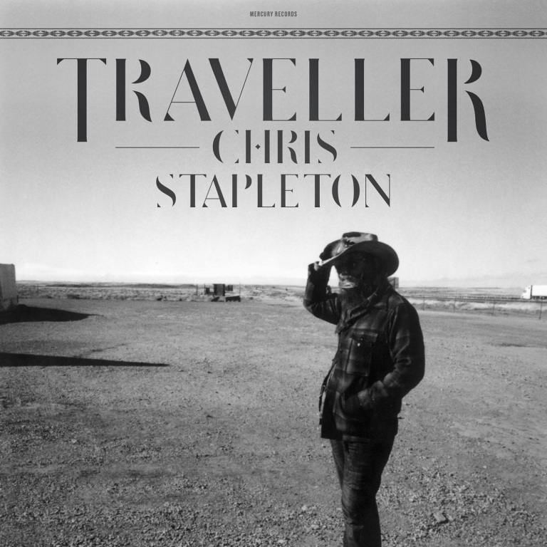 CHRIS STAPLETON'S TRAVELLER LANDS AT NO. 1 ON BILLBOARD 200 AND COUNTRY ALBUM CHARTS