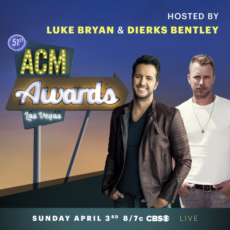51st ACM Awards Announced