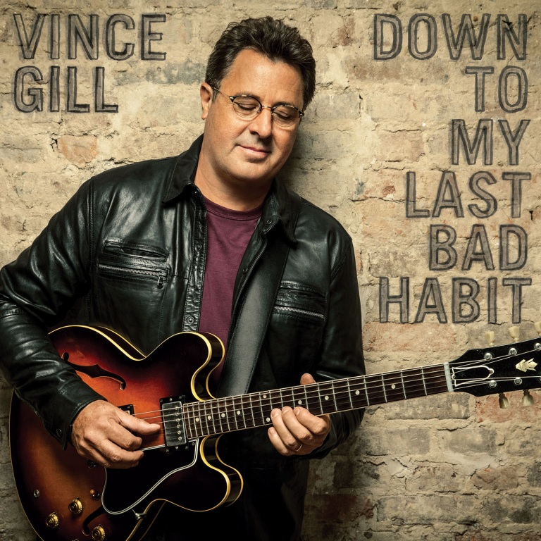 Vince Gill Prepares for Down To My Last Bad Habit Available Friday Feb. 12