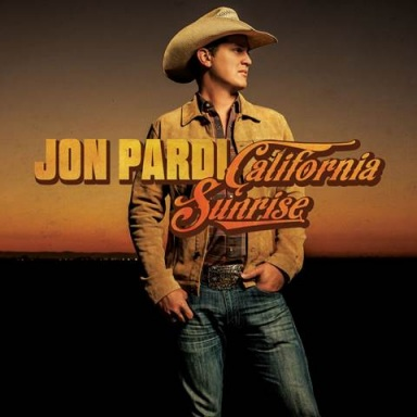 JON PARDI'S CALIFORNIA SUNRISE DEBUTS AT NO. 1 ON BILLBOARD COUNTRY ALBUMS CHART