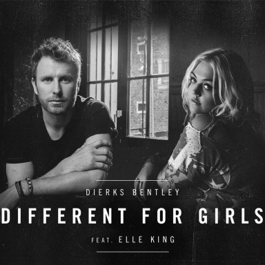 "DIERKS BENTLEY REVEALS A NEW LAYER OF RELATIONSHIP ALBUM BLACK  WITH THE RELEASE OF ""DIFFERENT FOR GIRLS"" FEATURING ELLE KING"