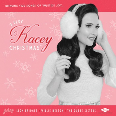 "KACEY MUSGRAVES TO RELEASE FIRST HOLIDAY ALBUM ""A VERY KACEY CHRISTMAS"" FEATURING LEON BRIDGES, WILLIE NELSON & THE QUEBE SISTERS ON OCTOBER 28"