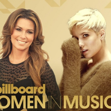 Shania Twain to Receive 'Icon' Award, Halsey Named 'Rising Star' at Billboard Women In Music 2016