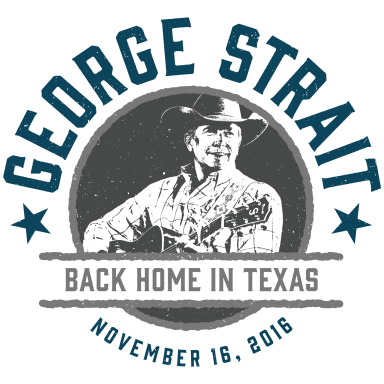 GEORGE STRAIT BACK HOME IN TEXAS FOR A VERY SPECIAL PERFORMANCE WEDNESDAY, NOV. 16